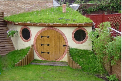 hobbit playhouse for boys - Really Cool Boys' Forts Kids' Playhouse Series KidSpace Interiors