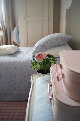 Ways to Use Vintage Suitcases in Kids' Rooms by Jeanette Simpson in Nauvoo IL