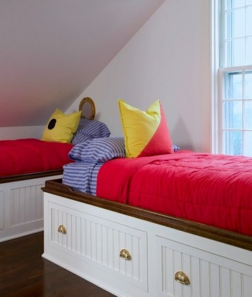 red yellow blue triadic kids room color scheme