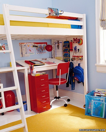 red yellow blue kids room color scheme