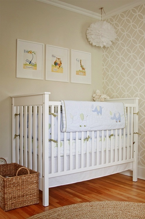 Tan Neutral Baby Nursery Color Scheme