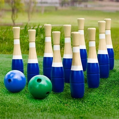 outdoor bowling game for family backyard fun