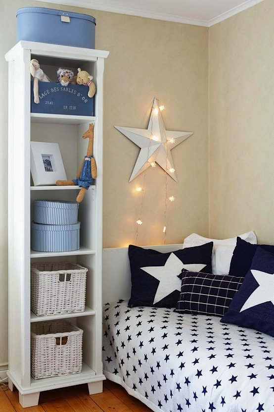 Kids Bedroom Bedside Amazing Star Night Light Girls Led ...