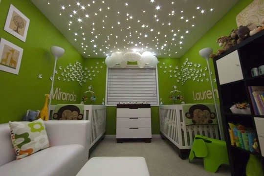 Stars In Kids Rooms Ceiling Star Lights Kide Interiors
