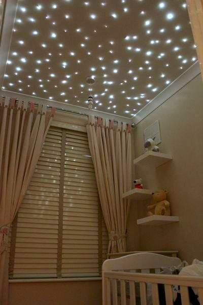 Stars in kids 39 rooms ceiling star lights kidspace for Ceiling light for kids room