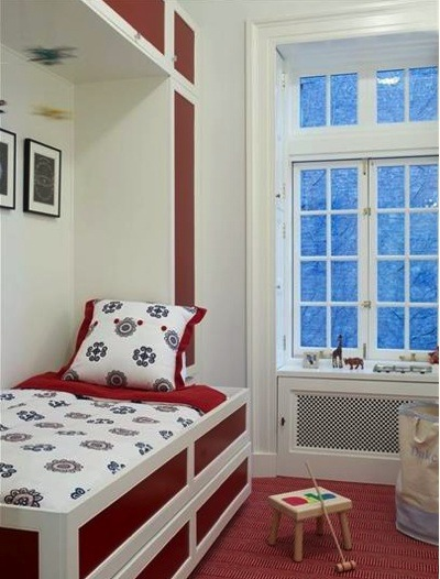 Kids 39 room color schemes rockin 39 red kidspace interiors - Kids room color combination ...