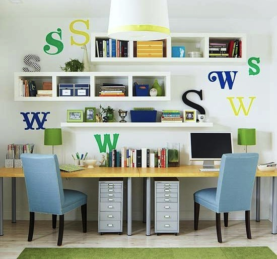 Home School Room Series Places To Study Kidspace Interiors