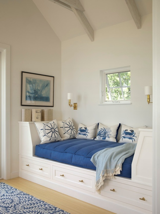 beachside blues teen daybed