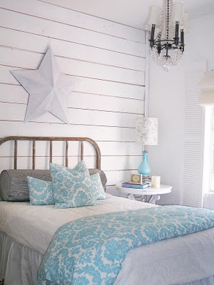 beachside blues for teen beach theme room