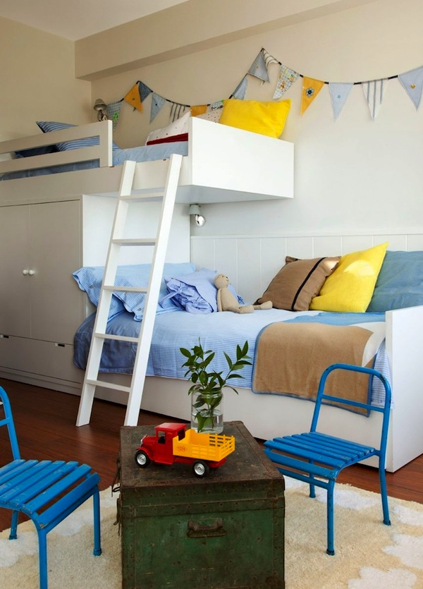 Shared Kids 39 Room For Two Cantilever Beds Kidspace