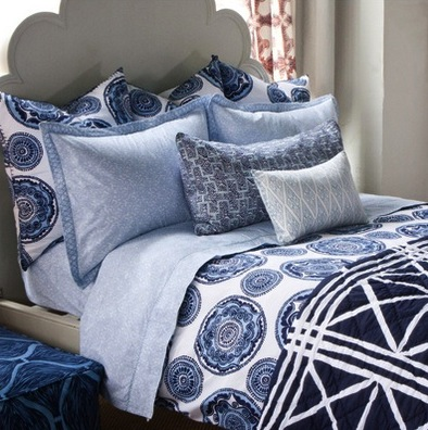 Using large and smal scale prints kids 39 room patterns for Small room essentials