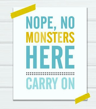carry on sign for kids room