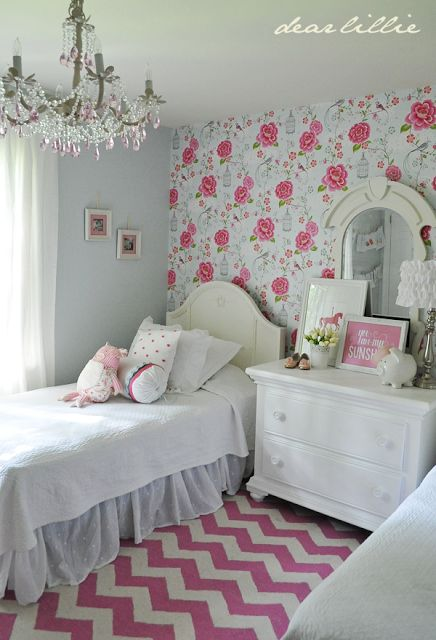 florals using pattern in kids rooms kidspace interiors