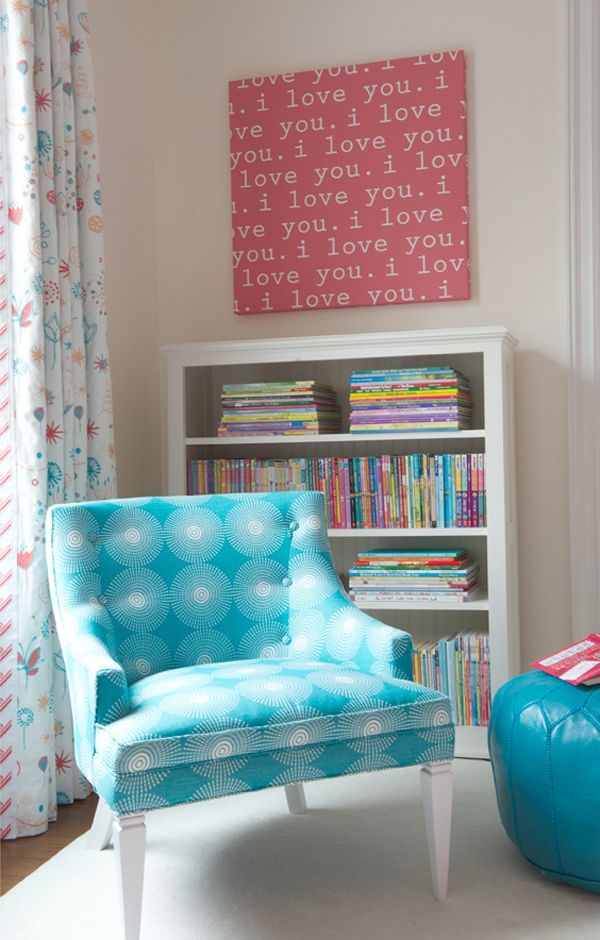 geometric unphostery for girls room