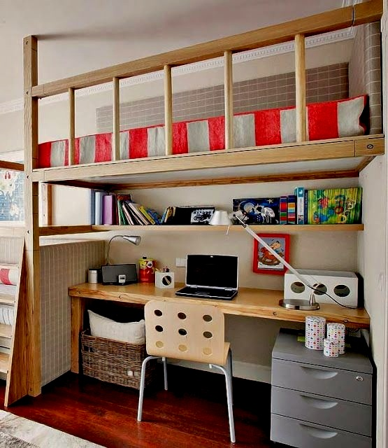 kids 39 room loft beds study areas kidspace interiors. Black Bedroom Furniture Sets. Home Design Ideas
