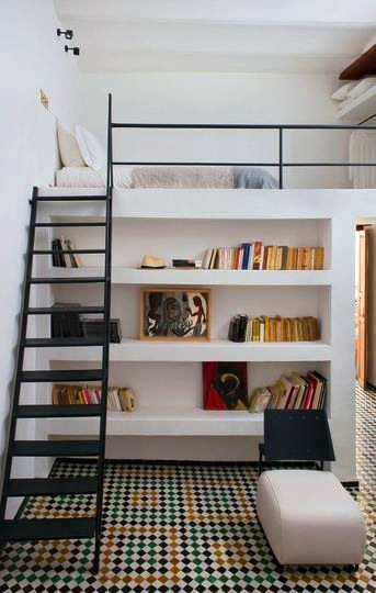 Above) Hanging storage, decorative or utilitarian, can be placed ...