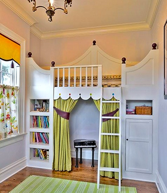 Super Play Areas : Kidsu0026#39; Room Loft Beds : KidSpace Interiors