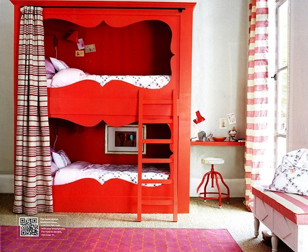 curvy cutouts for kids bunk beds