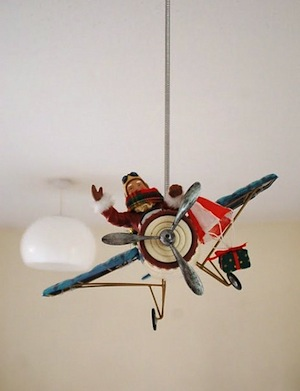 model vintage airplane for boys room airplane theme