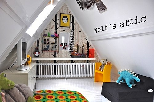 kids 39 rooms under the rafters attic spaces kidspace interiors. Black Bedroom Furniture Sets. Home Design Ideas