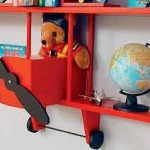 Unique Wall-Mounted Kids' Room Storage Solutions