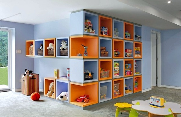 Wall Of Storage Fascinating Kids' Room Storage Solutions  Wallmounted  Kidspace Interiors Design Inspiration