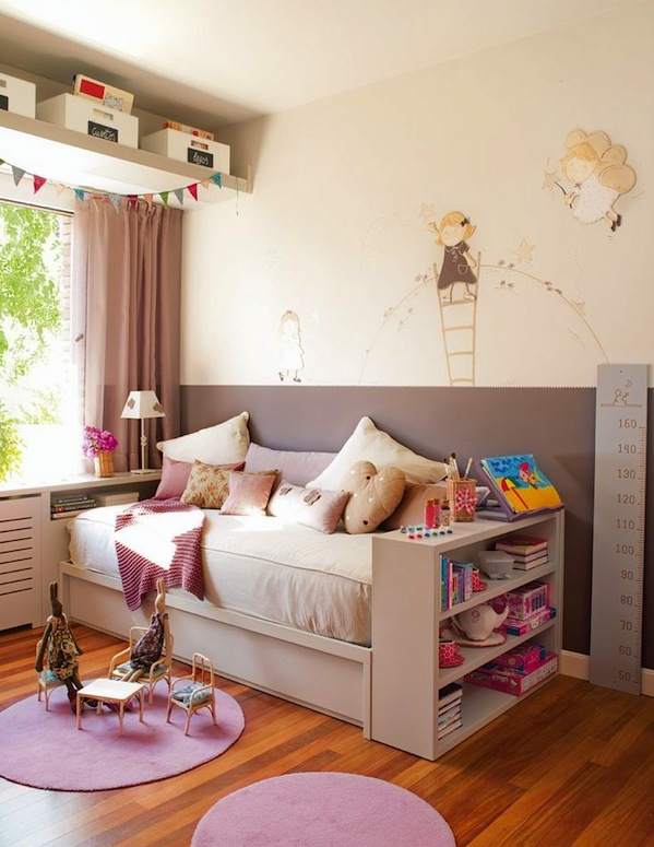 Kids room storage solutions reclaim wasted space