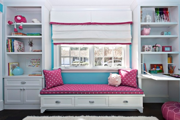 10 Awesome Window Seats | Kids\' Room Storage Solutions |KidSpace ...