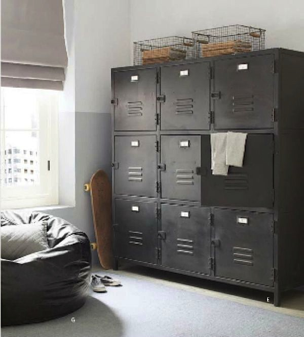 Ways to Use Metal Lockers in Kids\' Rooms | Storage | KidSpace ...