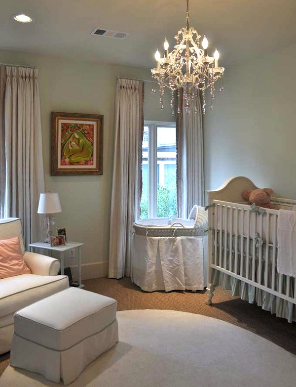 the simply elegant baby nursery kidspace interiors