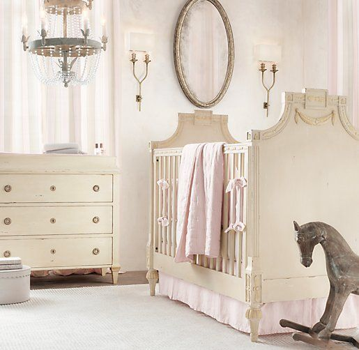 Soft And Elegant Gray And Pink Nursery: The Simply Elegant Baby Nursery