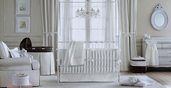 All White Baby Nursery Ideas KidSpace Interiors