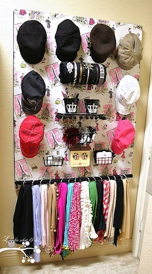 Teen Girl's Room Accessory Storage Ideas | KidSpace Interiors