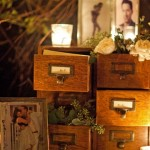 Recycling Vintage File Drawers for Teen Room Accessories
