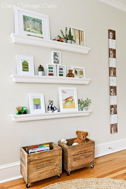 Baby Nursery With Old And New Mix