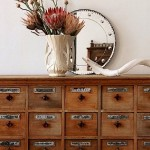 Recycling Vintage File Cabinets in Kids' Rooms