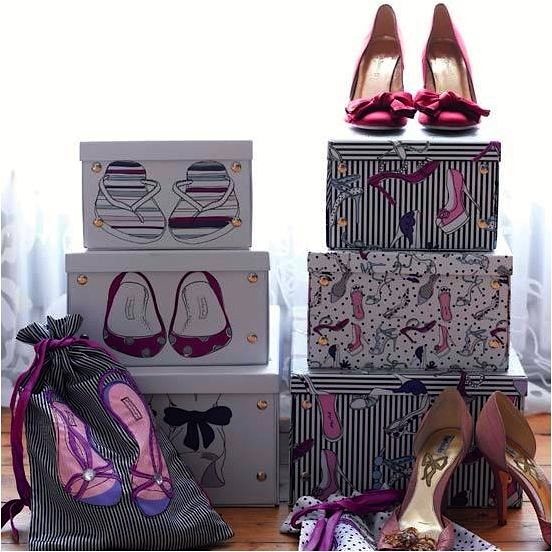 teen shoe boxes for cool storage ideas