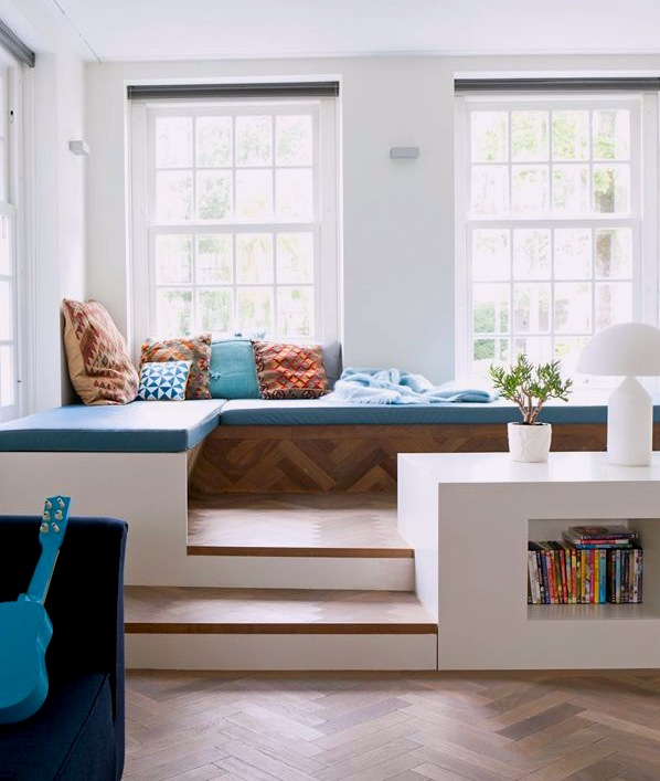 small loft bedroom storage ideas - Kids Relaxing Reading Areas