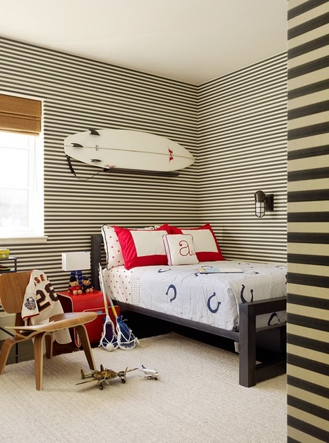10 awesome sports theme teen rooms kidspace interiors for Surfers bedroom design