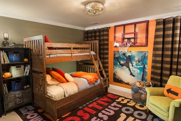 10 Awesome Sports Theme Teen Rooms Kidspace Interiors