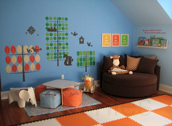 Toddler Room Play Areas