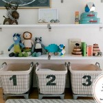 Toddler Room Super Storage Ideas