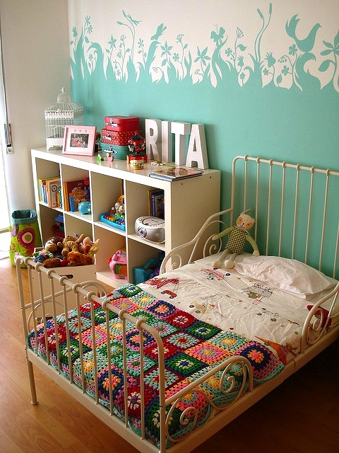 Toddler Room With Open Storage For Toys