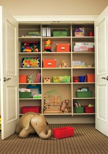 Toddler room ideas toddler room storage kidspace interiors Closet toy storage ideas