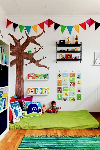 Toddler Relaxing Reading Areas Kids Reading Nooks