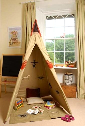 Kids Teepees Sweet And Cozy Playrooms Kidspace Interiors