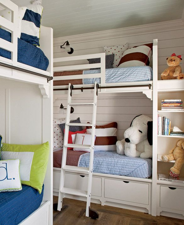Coastal Theme Bunkrooms