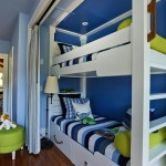 Beachy Blue Striped Kids' Rooms