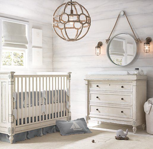 Natural Baby Nursery Design Reveal: Sweet Coastal Baby Nurseries