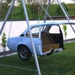 Cool and Unique Car Swing Seat